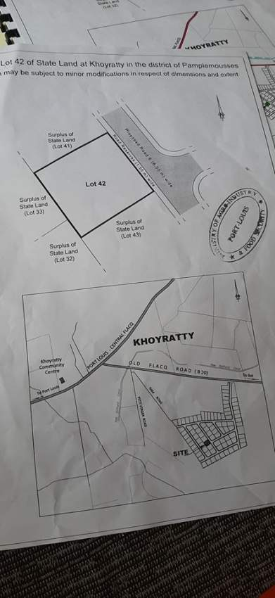 Land for sale at Khoyratty