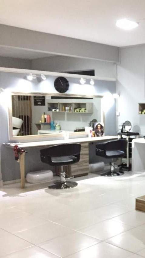 Hair Dresser Table And Mirror