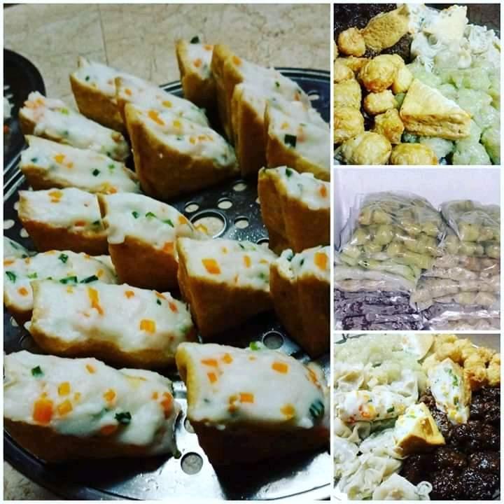 Frozen cooked boulettes