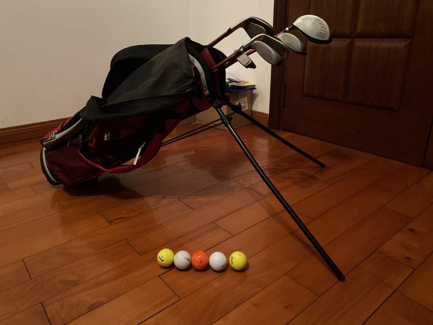 Golf set for 7 to 11 years old