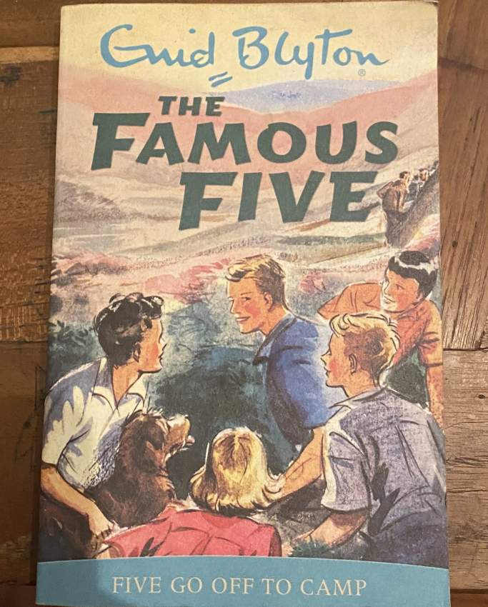 The famous five book(5 go off to camp)