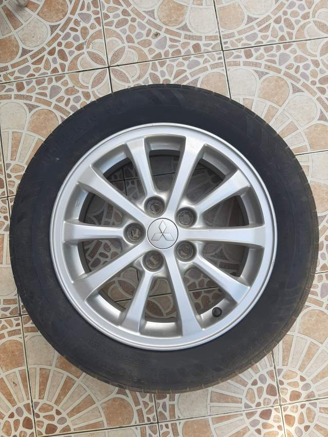 4 Alloy Rims 16# inch (5*114) with tyre