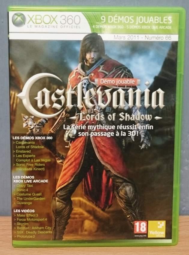 Xbox 360 game-9 playable demos