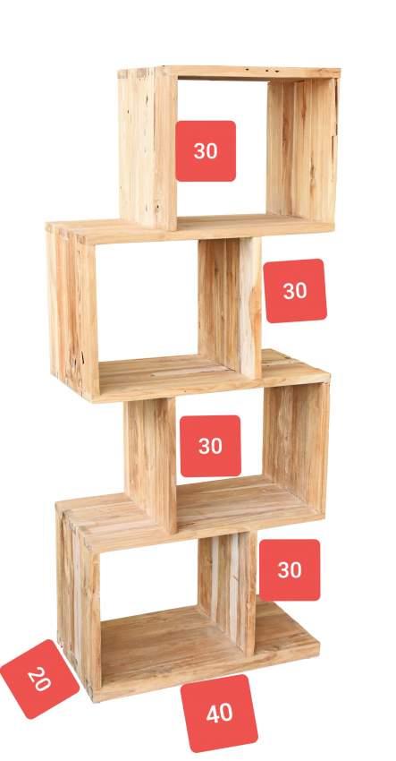 Simple wooden Rack