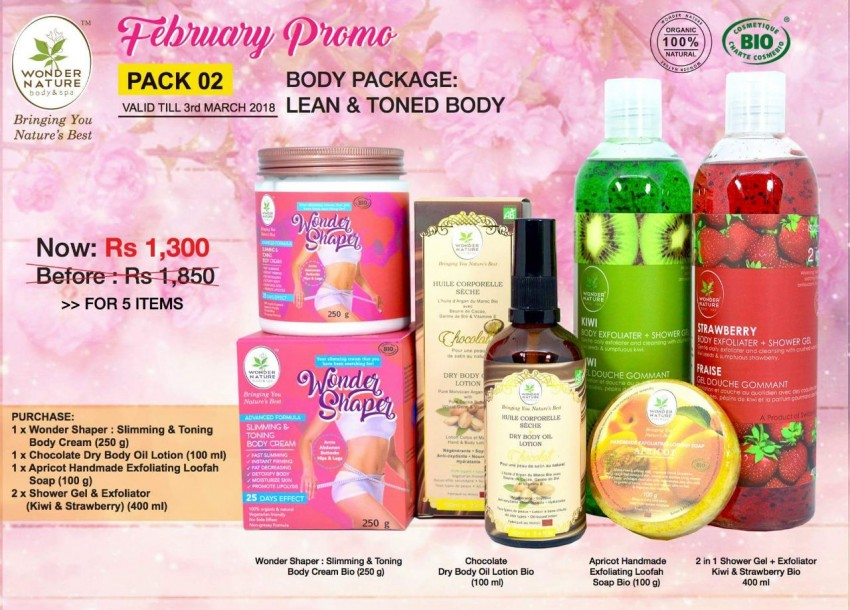 Wonder Nature - Body lotion & Cream at AsterVender