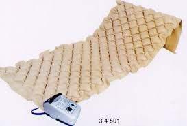 Medical Bed + medical ripple mattress  incl. pump