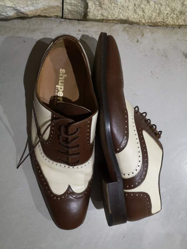 1940s style men's shoes - Shuperb footwear