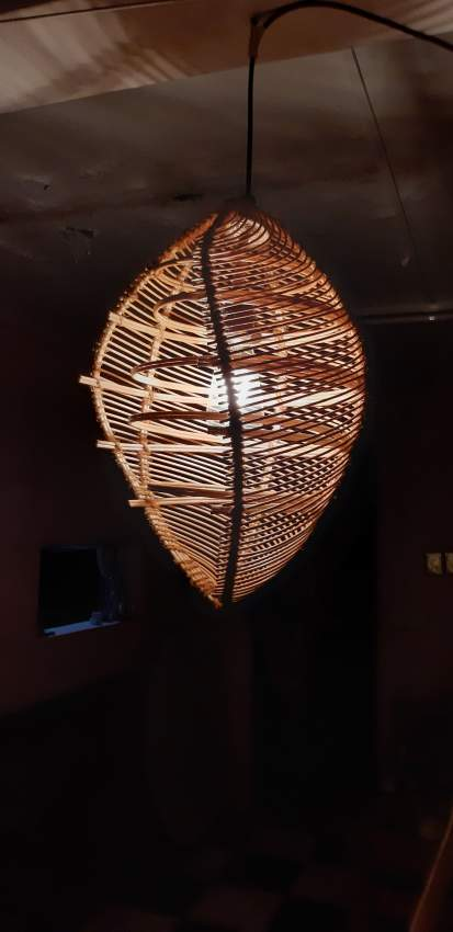 Handmade Rattan Lamp shell