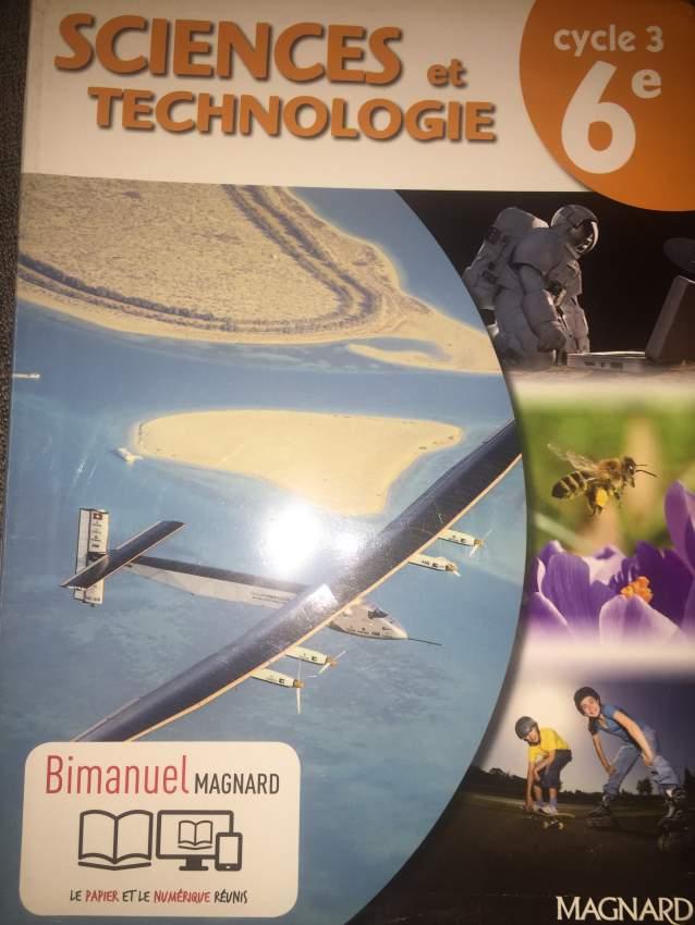 Sciences et technologies cycle 3
