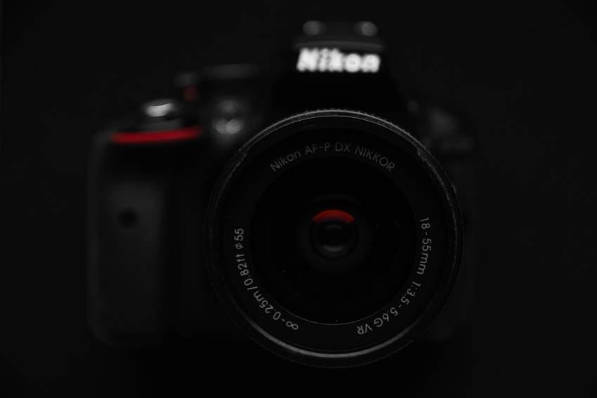 Nikon D5300 24.2 MP CMOS Digital SLR Camera with Built-in Wi-Fi