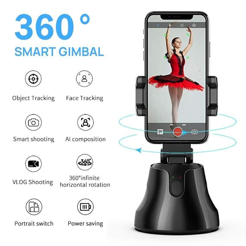 360 object tracking Camera holder