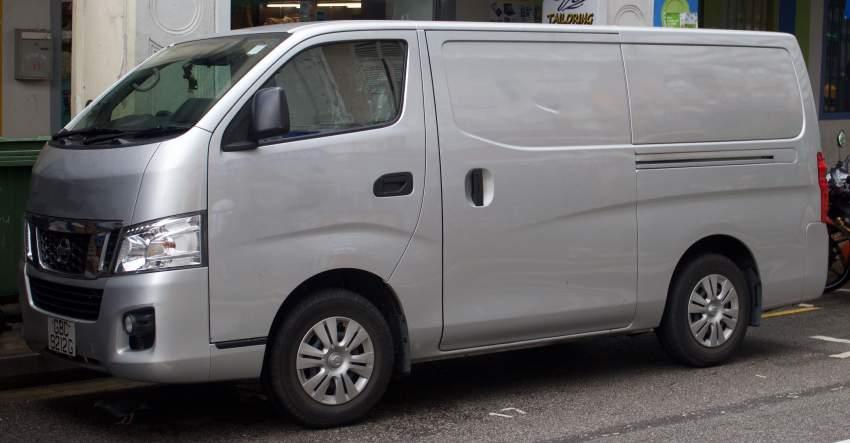 Looking for goods van