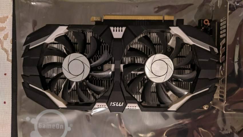 MSI NVIDIA GeForce GTX1050Ti 4GB DDR5 DVI/DP/HDMI Video Card