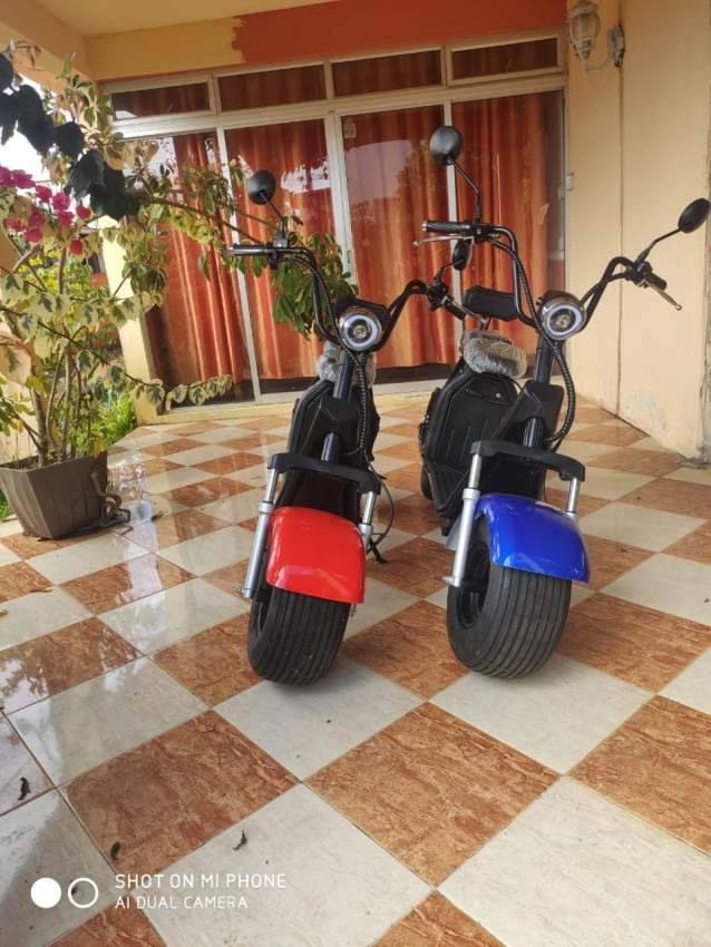 1500 W Electric Motorcycle