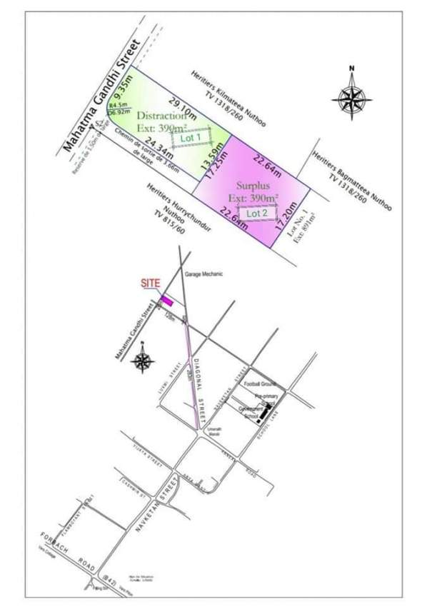 9.24 p residential land in Lesperance Trebuchet @ Rs 950,000 - Land at AsterVender