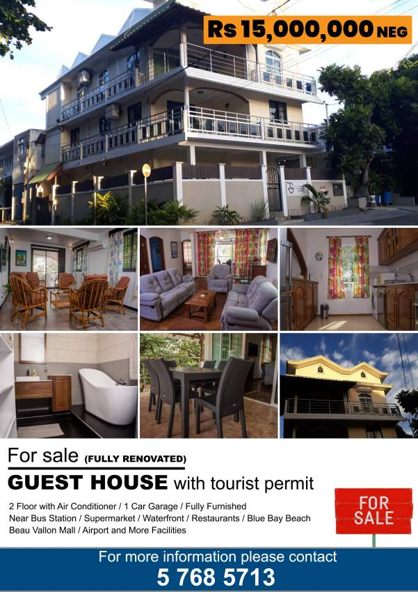 For Sale Guest House