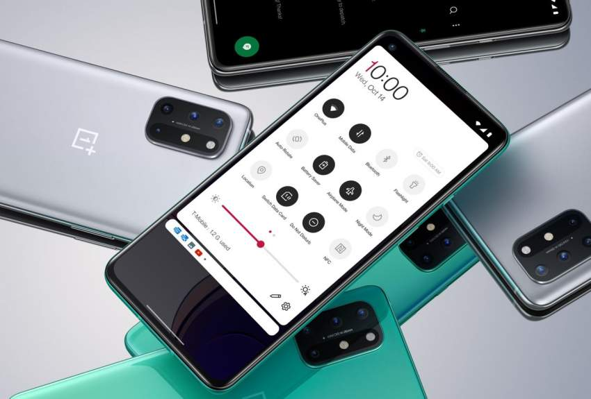 OnePlus 8T Ultra Fast Charging.  Ultra Smooth Scrolling.
