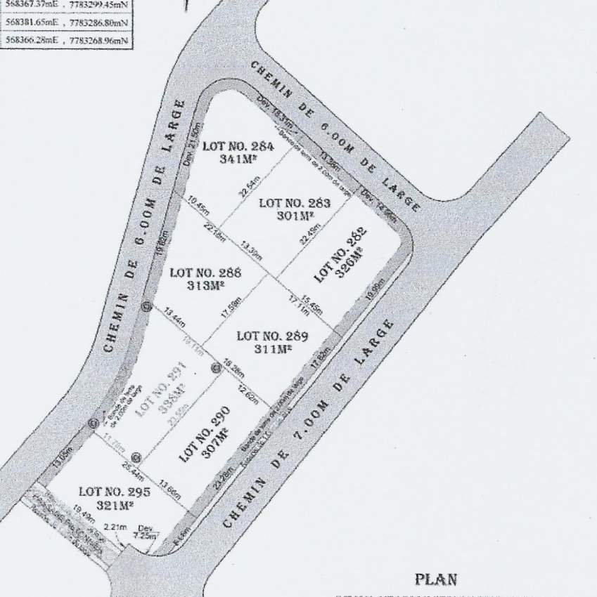 Land on sale in Goodlands in Morc Beau Plateau Rs 1.7 M neg