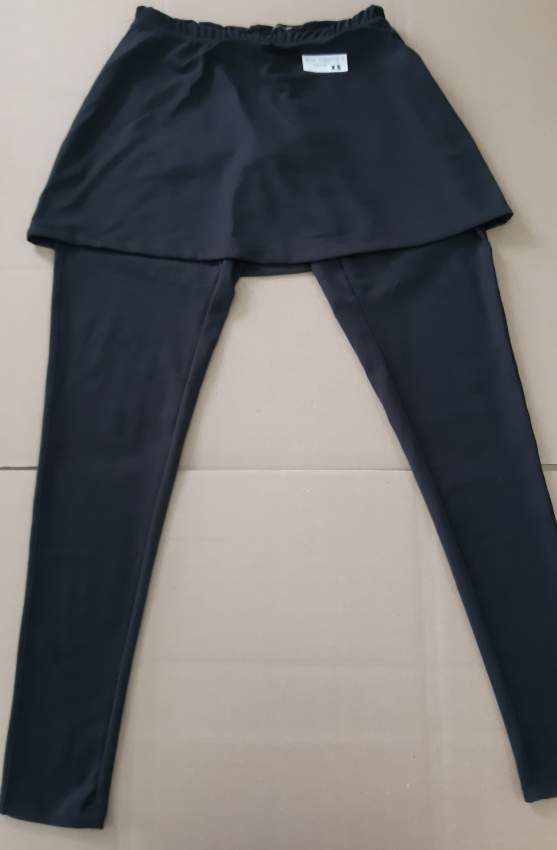 Ladies yoga legging ( 3/4 ) with top skirt  at AsterVender