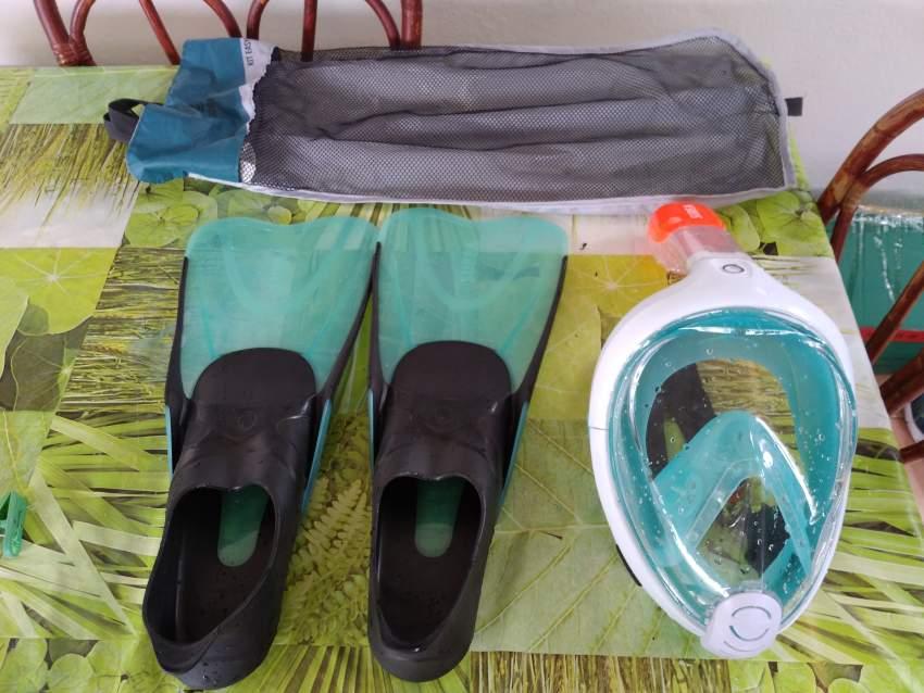 Kit de plongée Decathlon