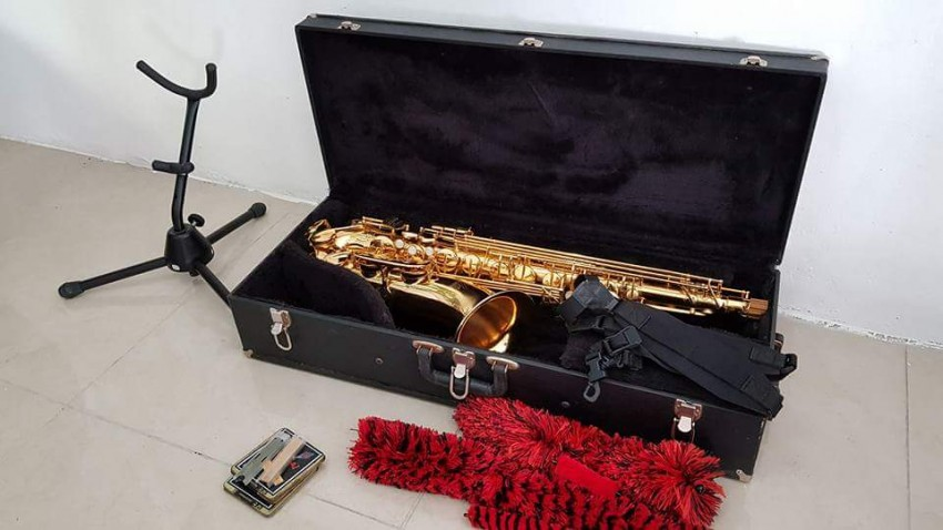 Tenor Saxophone Weril Master(plus all equipments) - Saxophone at AsterVender