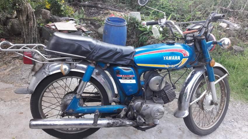 Motocyclette yamaha 100cc