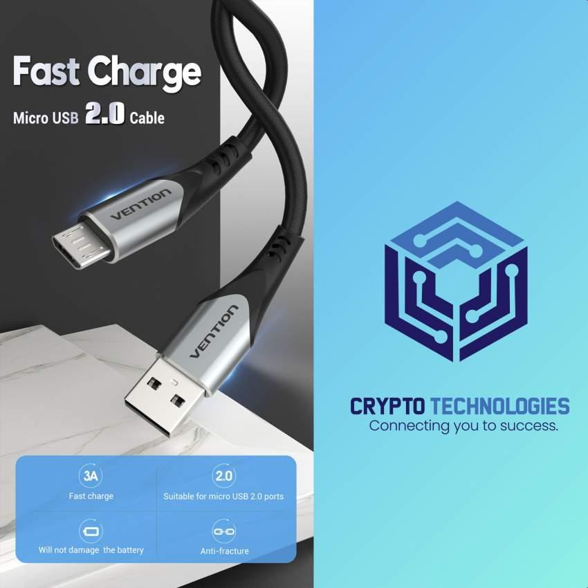 USB 2.0-A to Micro USB (Micro-B)
