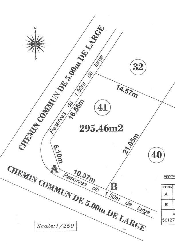Land on sale in Plaines des Papayes RS 1.3 M neg