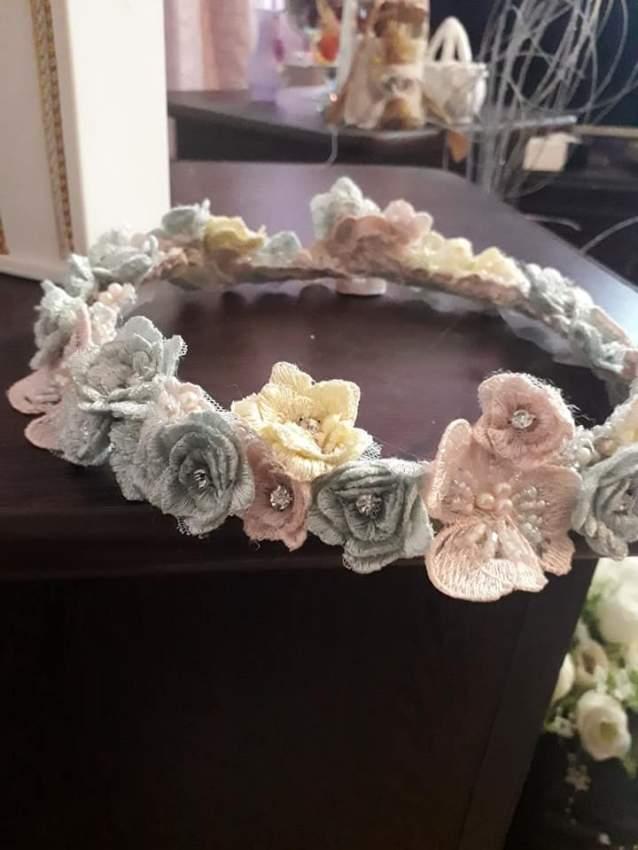 Wedding Flower Crown - 3 - Wedding Clothing  on Aster Vender