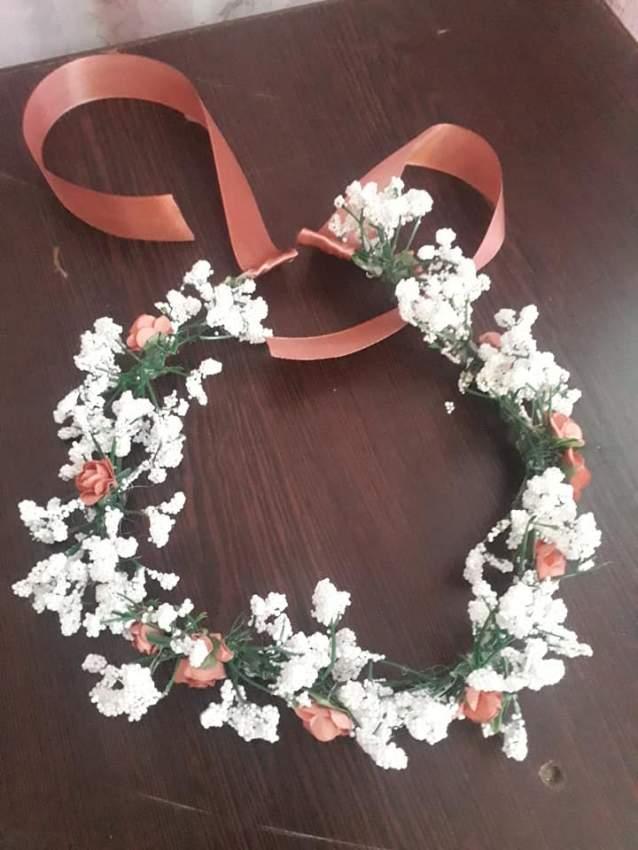 Wedding Flower Crown - 6 - Wedding Clothing  on Aster Vender