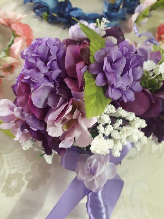 Bouquet and crown set - 2 - Wedding Decor  on Aster Vender