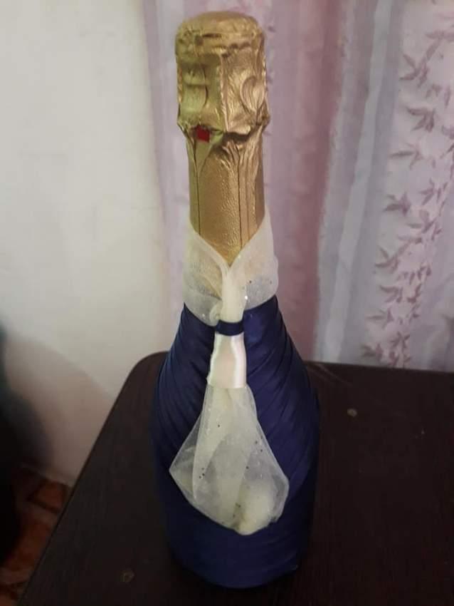 Champagne bottle decoration - 1 - Wedding Decor  on Aster Vender
