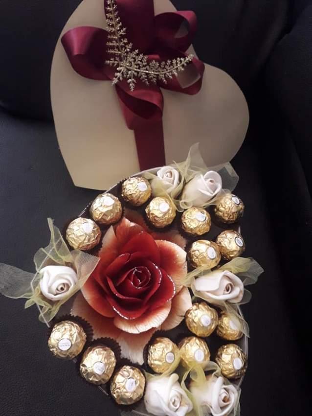 Ferrero in heart shape carton box - 1 - Wedding Gift  on Aster Vender