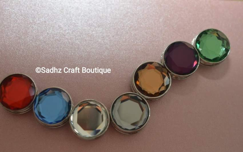Hijab Pin - Seven Colors Available - Hairpins & head ornaments at AsterVender