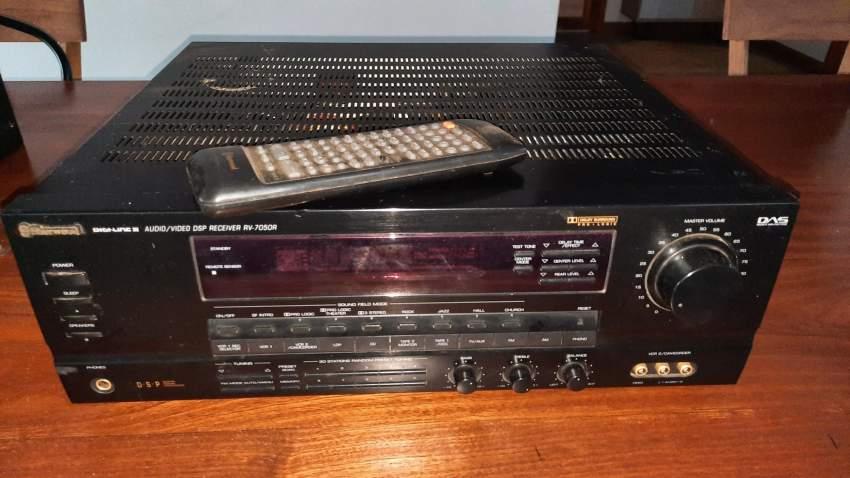 SOUND SYSTEM - SHERWOOD RECEIVER RV-7050R