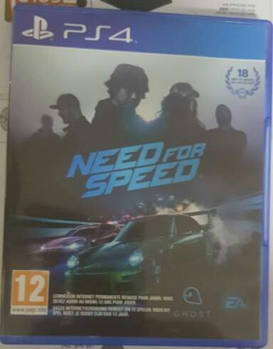 Jeux ps4 NEED FOR SPEED