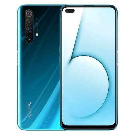 Realme X50 5G 64 MP RAM 8 GB ROM 128 GB with an amazing glacier colour - Other phones at AsterVender