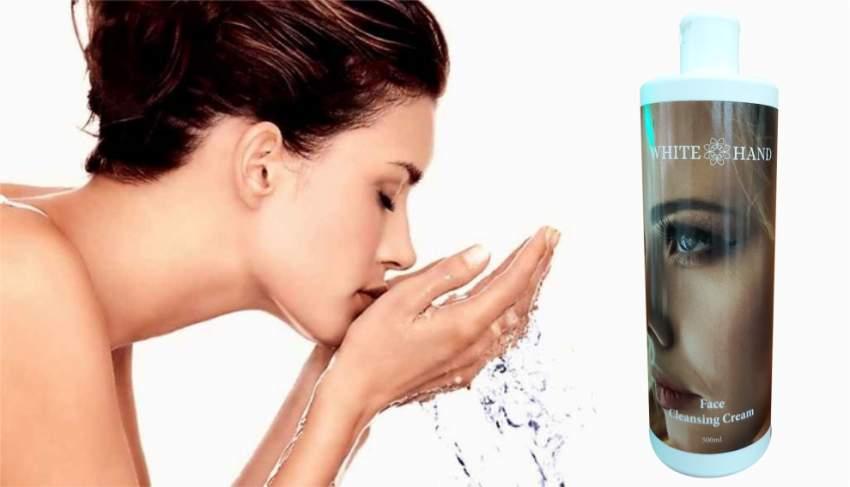 Nettoyez Naturellement votre visage – Face wash cream // 500 ML