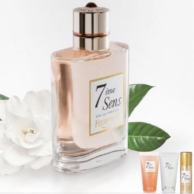 Eau de parfum 7eme sens femme