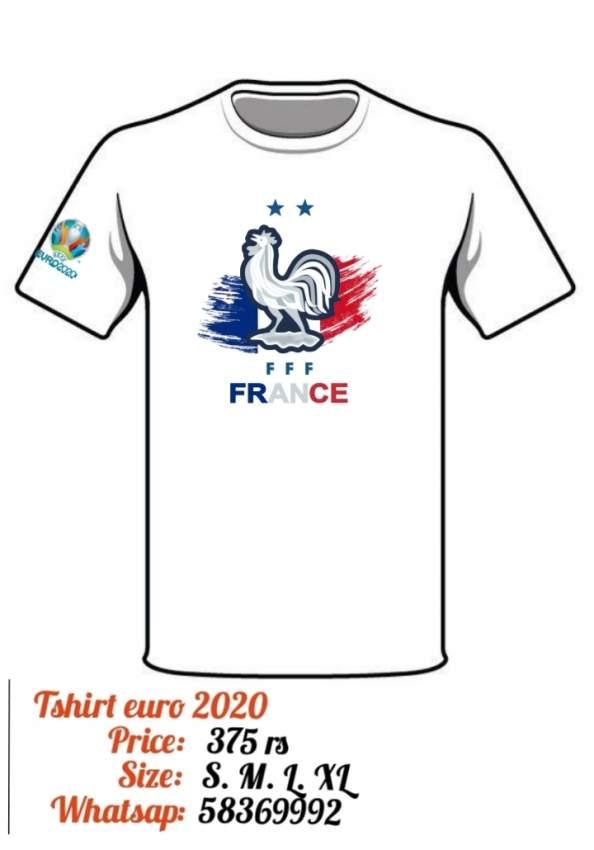 T shirt euro 2020