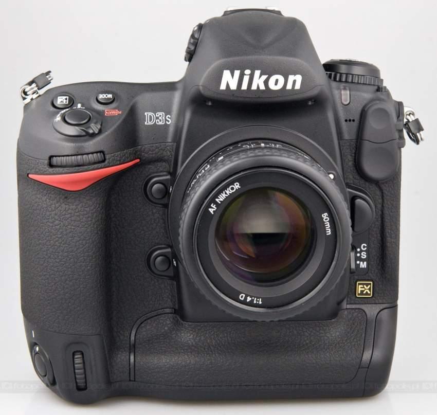 Nikon D3s Digital SLR Camera +Lens
