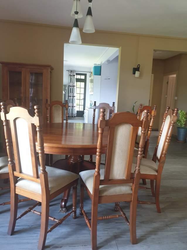 Dining set (Rosewood)