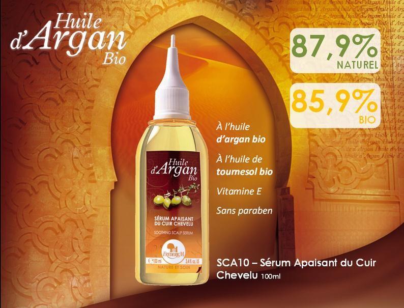 Sèrum a base d huile d argan