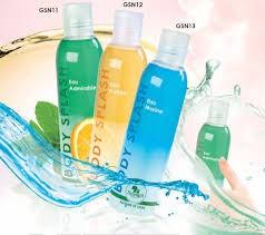 Body splash  aux huiles essentielles