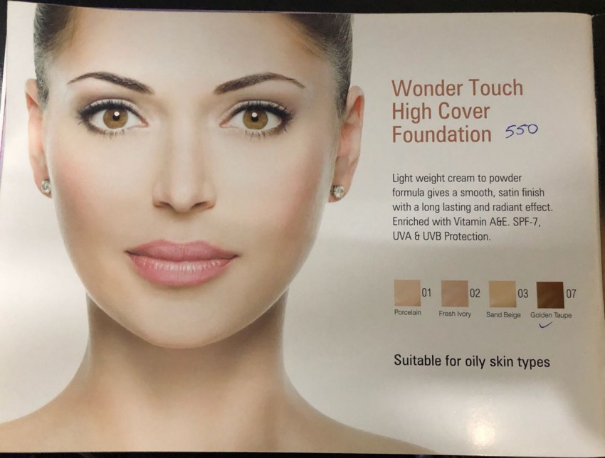 Wonder Touch Cover Foundation - Foundation at AsterVender