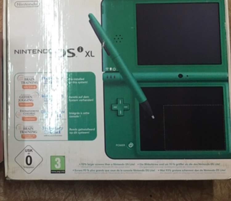 Nintendo DSi XL as new