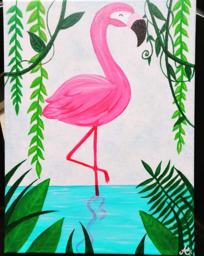 Tableau Flamingo