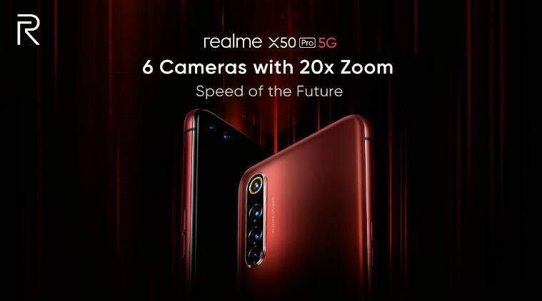 Realme x50 Pro RAM 12GB/ ROM 256 GB
