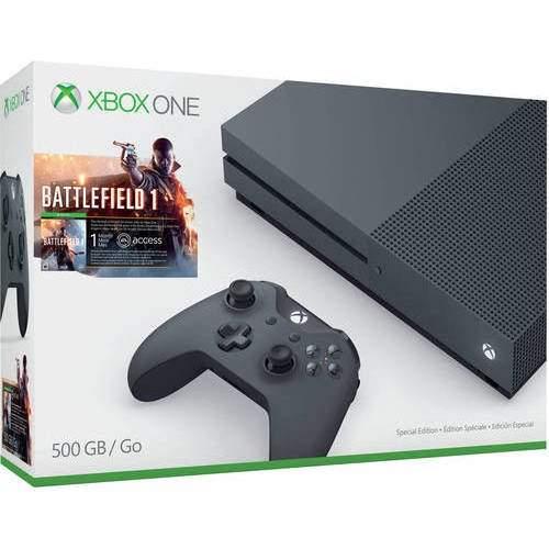 Xbox one s battlefield edition 500 GB