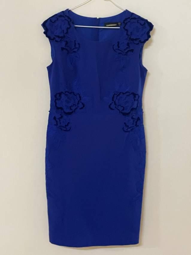 Evening/ party dress, size 10-12, royal blue